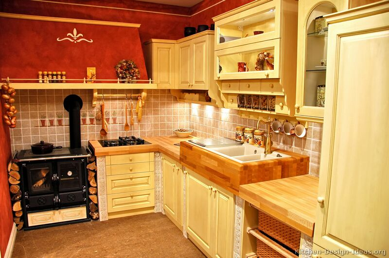 french country kitchen colors photo - 5
