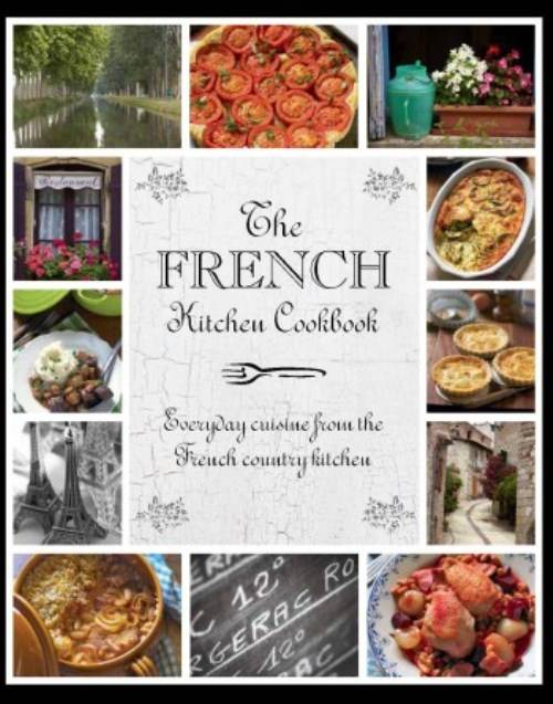 french country kitchen cookbook photo - 2