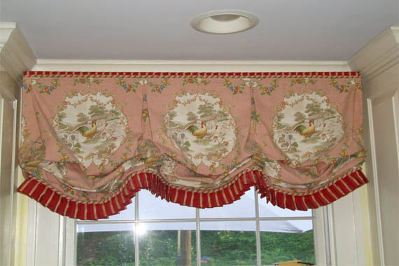 french country kitchen curtain ideas photo - 1