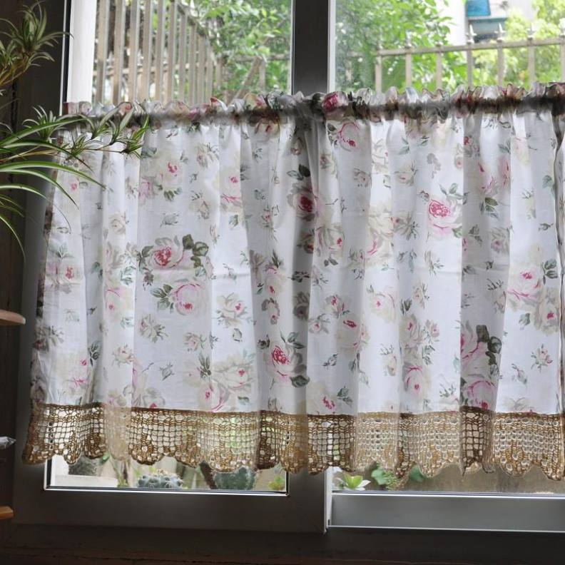 french country kitchen curtain ideas photo - 10