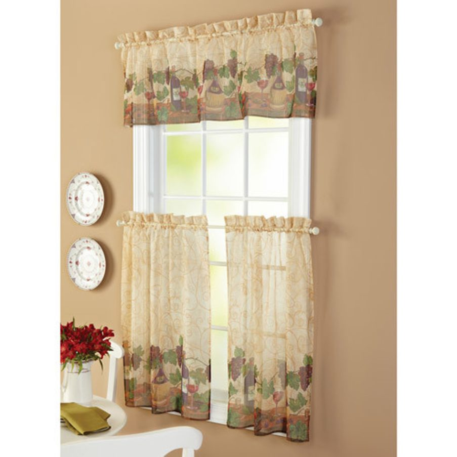 french country kitchen curtain ideas photo - 6