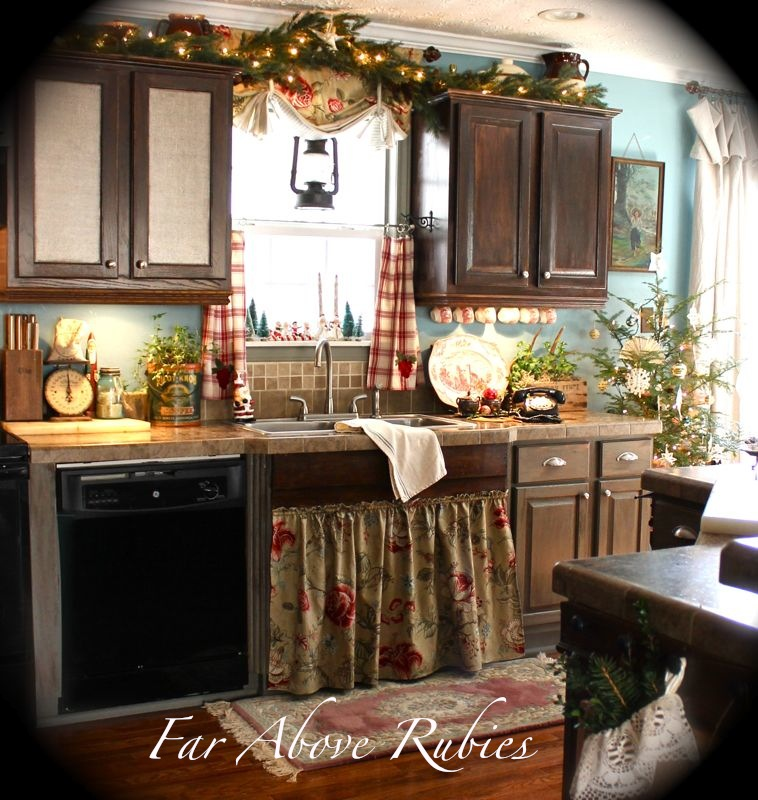 french country kitchen decor photo - 5