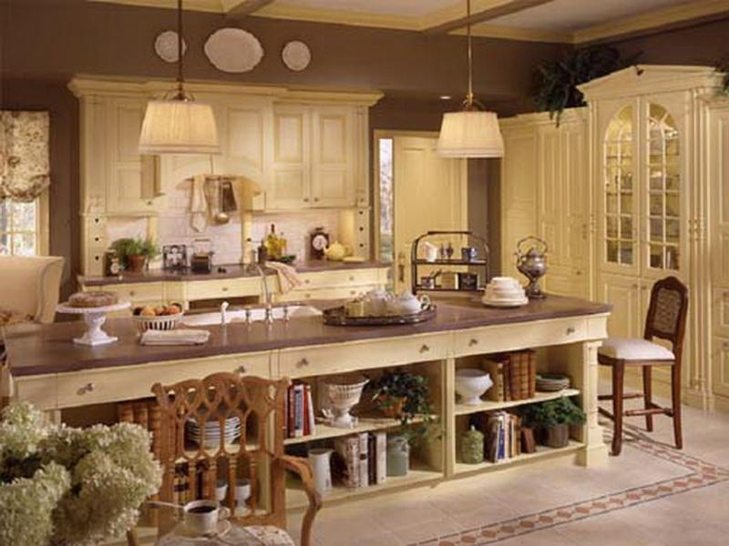 Superb French Country Kitchen Decorating Ideas Photo   1