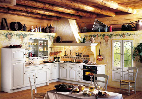 French country kitchen decorating ideas | Hawk Haven