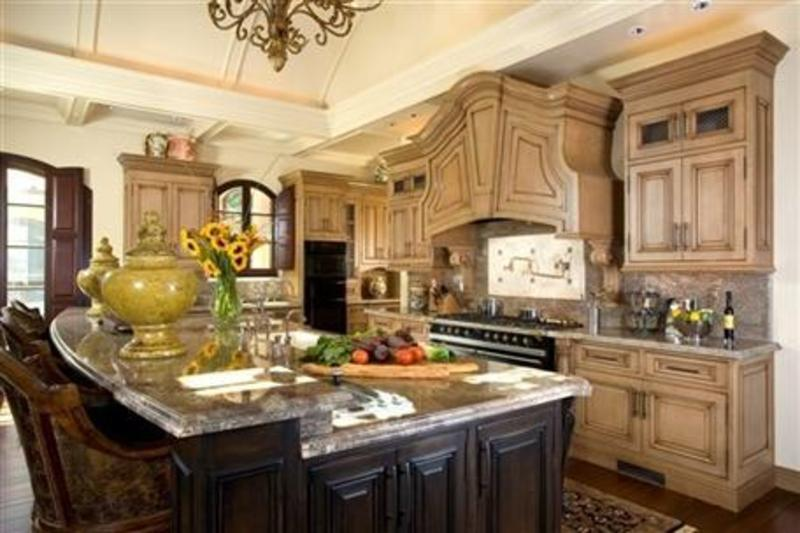 french country kitchen design photo - 4