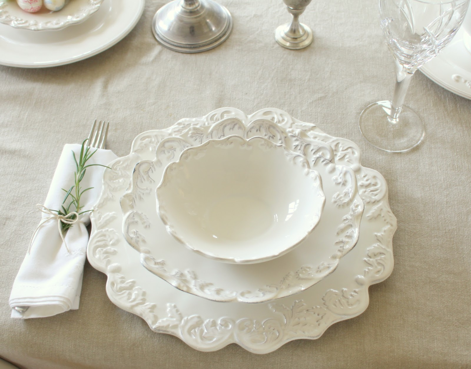 french country kitchen dishes photo - 9