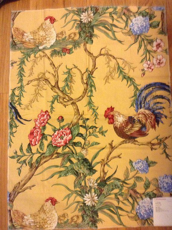 french country kitchen fabrics photo - 1