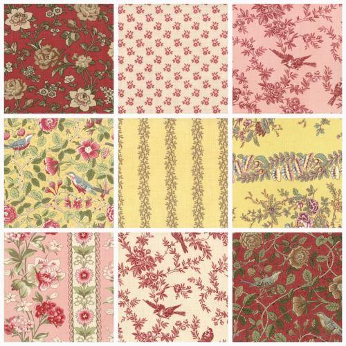 french country kitchen fabrics photo - 2