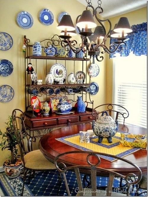 french country kitchen fabrics photo - 8