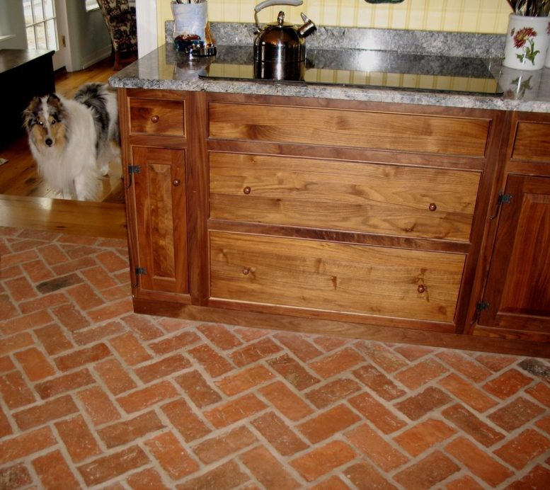 french country kitchen flooring ideas photo - 10