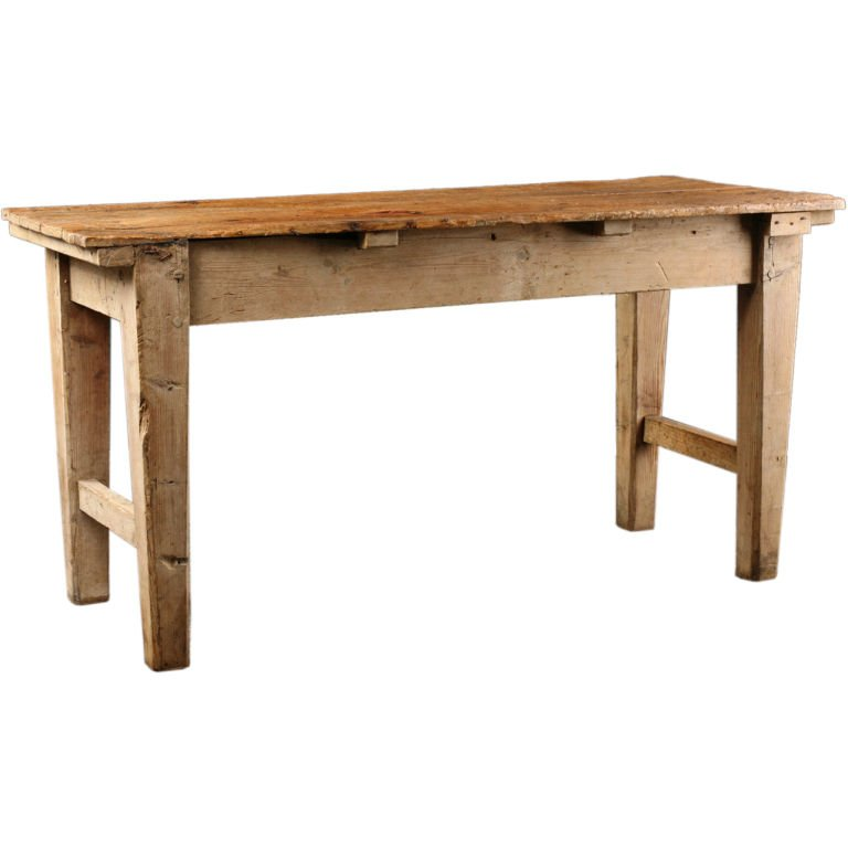 french country kitchen furniture table photo - 5