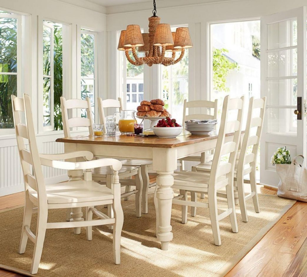 french country kitchen furniture table photo - 8
