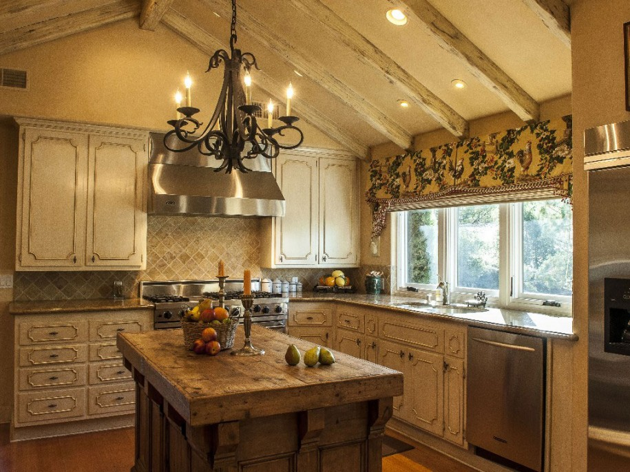 french country kitchen gallery photo - 1