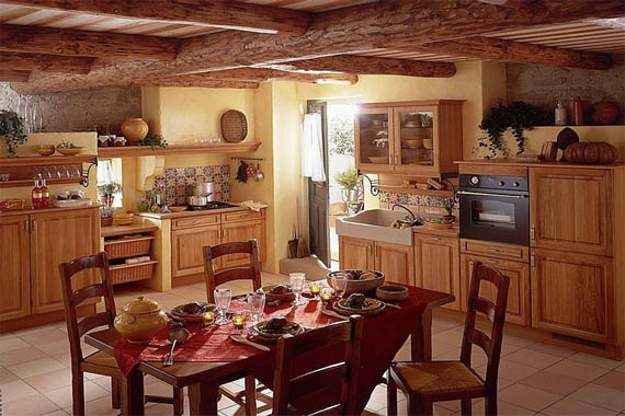 french country kitchen gallery photo - 10