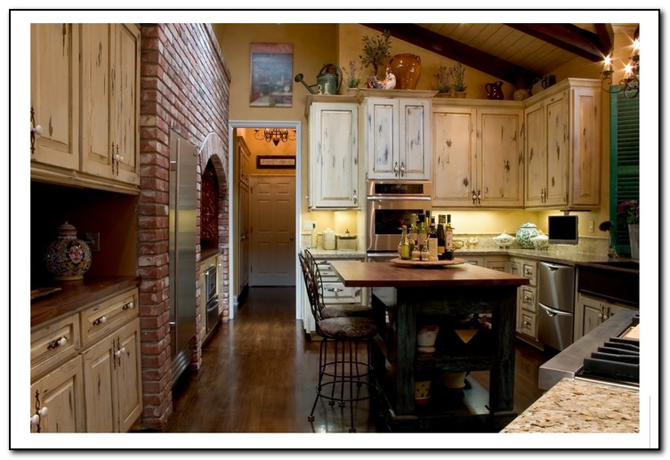 french country kitchen gallery photo - 6