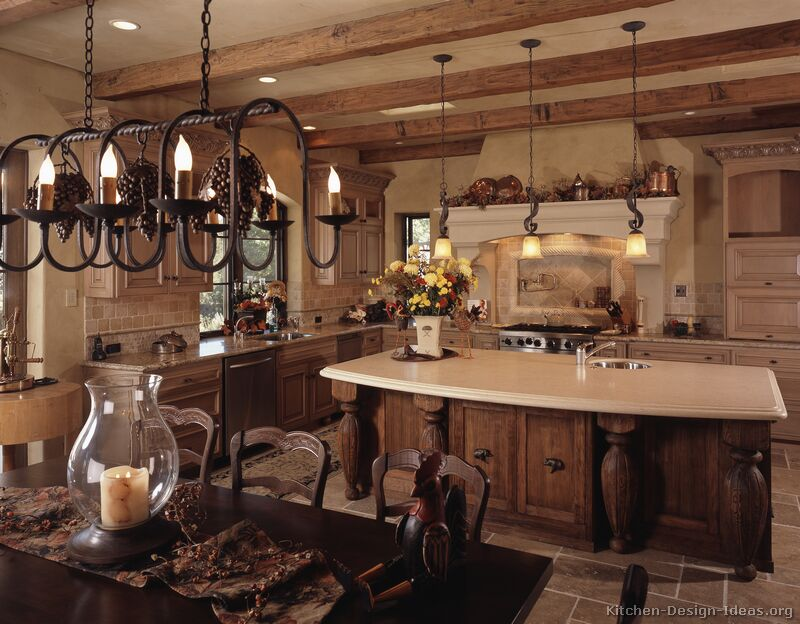 french country kitchen gallery photo - 7