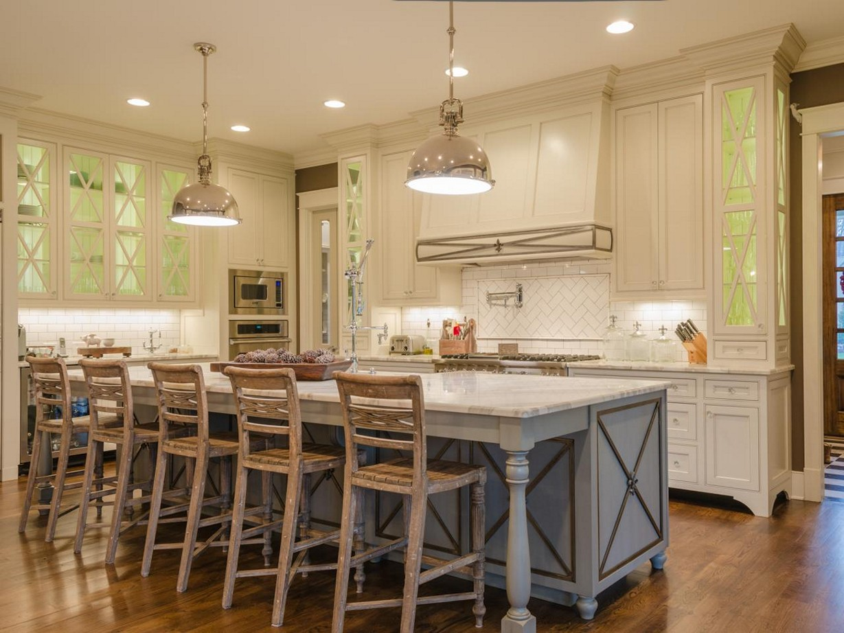 french country kitchen gallery photo - 9
