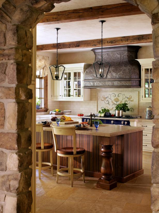 french country kitchen hoods photo - 1