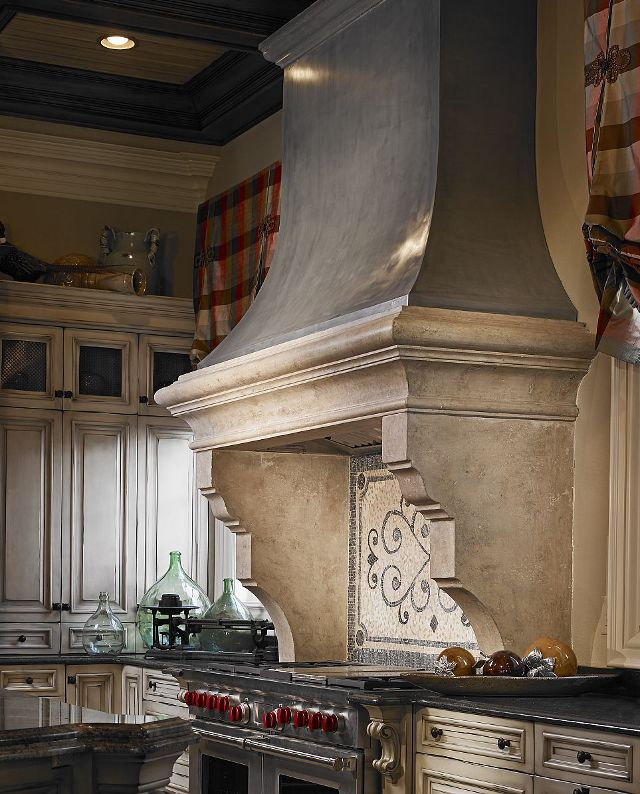 french country kitchen hoods photo - 3