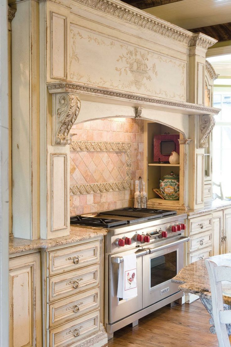 french country kitchen hoods photo - 7
