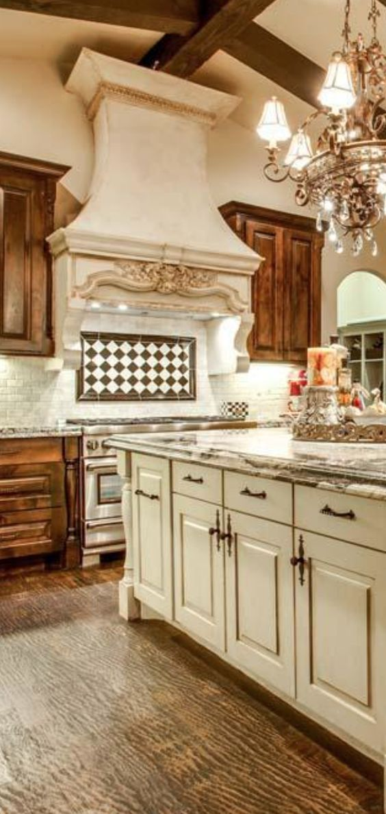 french country kitchen hoods photo - 8
