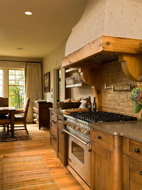 french country kitchen hoods photo - 9