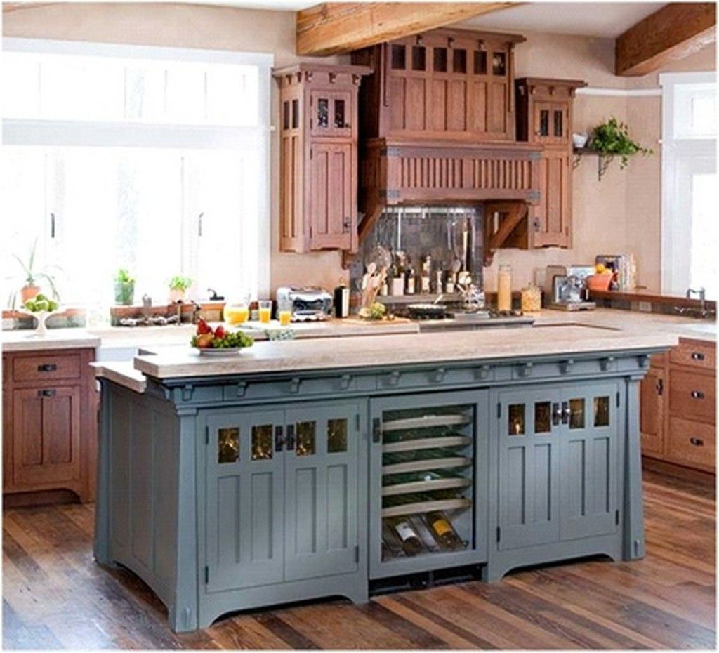 french country kitchen island furniture photo - 8