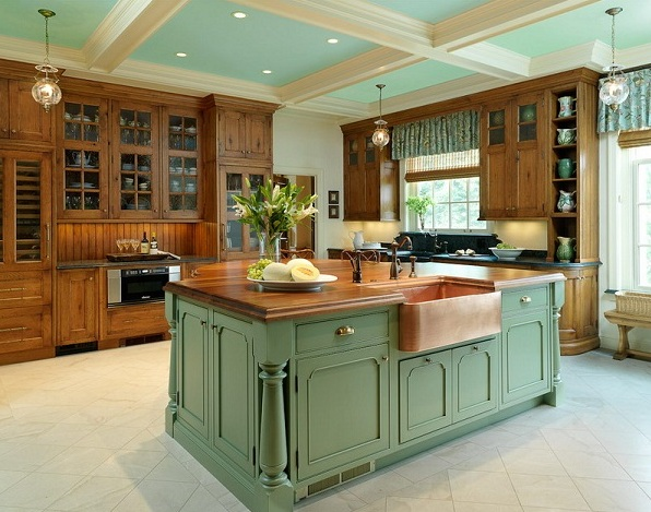 french country kitchen island ideas photo - 10
