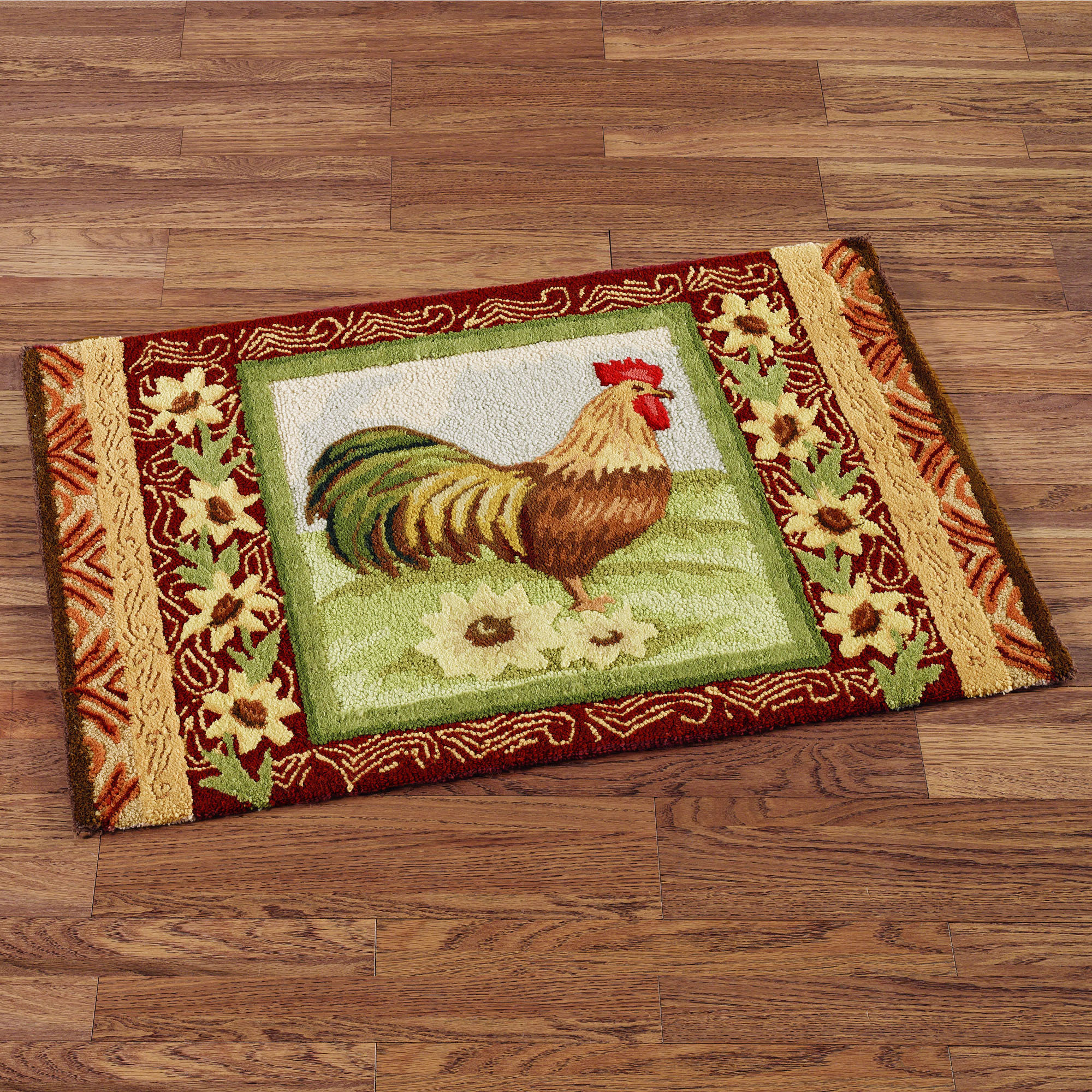 french country kitchen rugs photo - 9