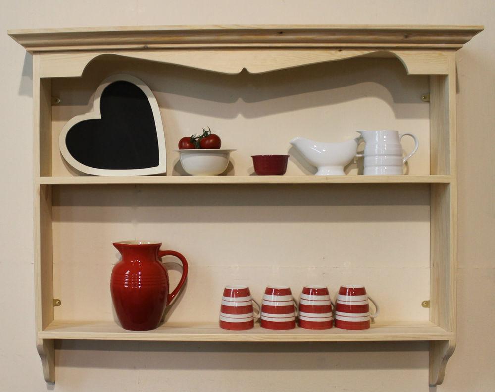 french country kitchen shelf photo - 8