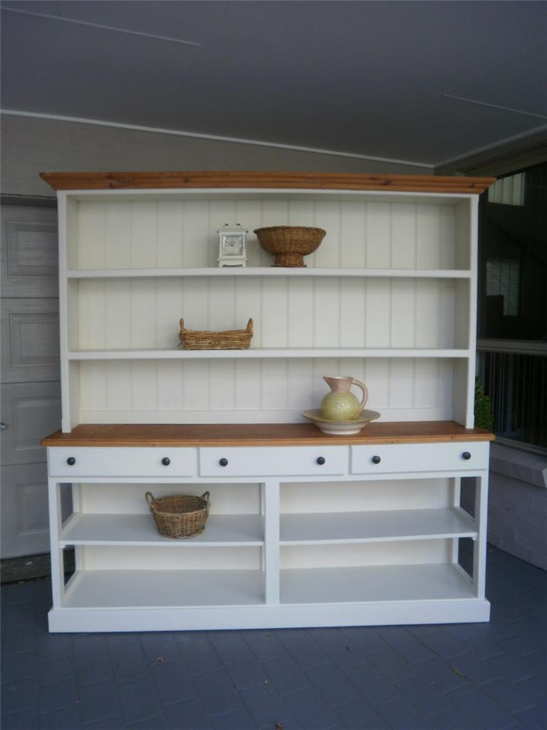 french country kitchen shelves photo - 8