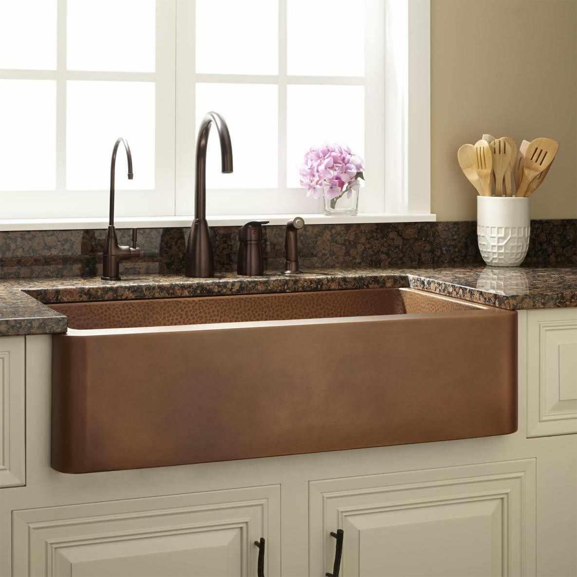 french country kitchen sinks photo - 8