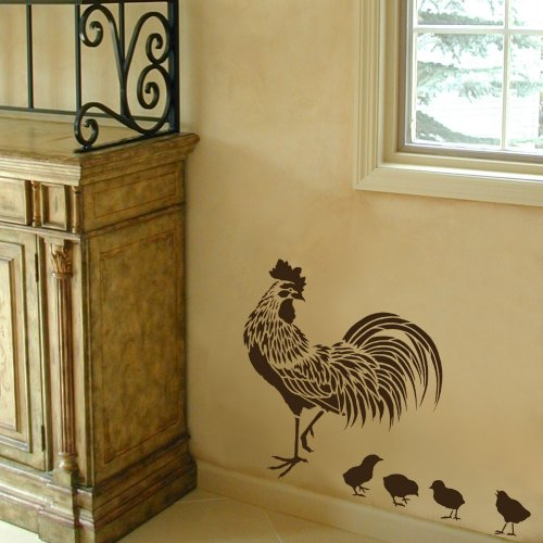 french country kitchen stencils photo - 5