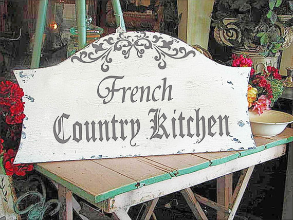 french country kitchen stencils photo - 7