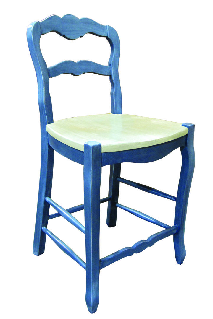french country kitchen stools photo - 4