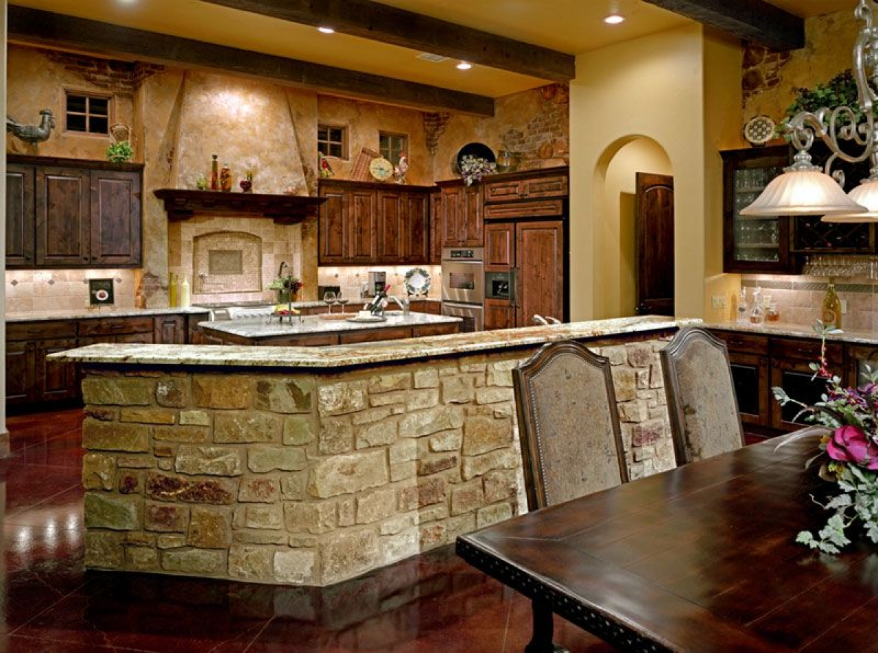 french country kitchen style photo - 10