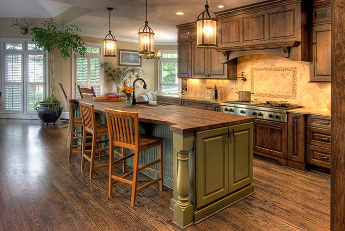 french country kitchen style photo - 5