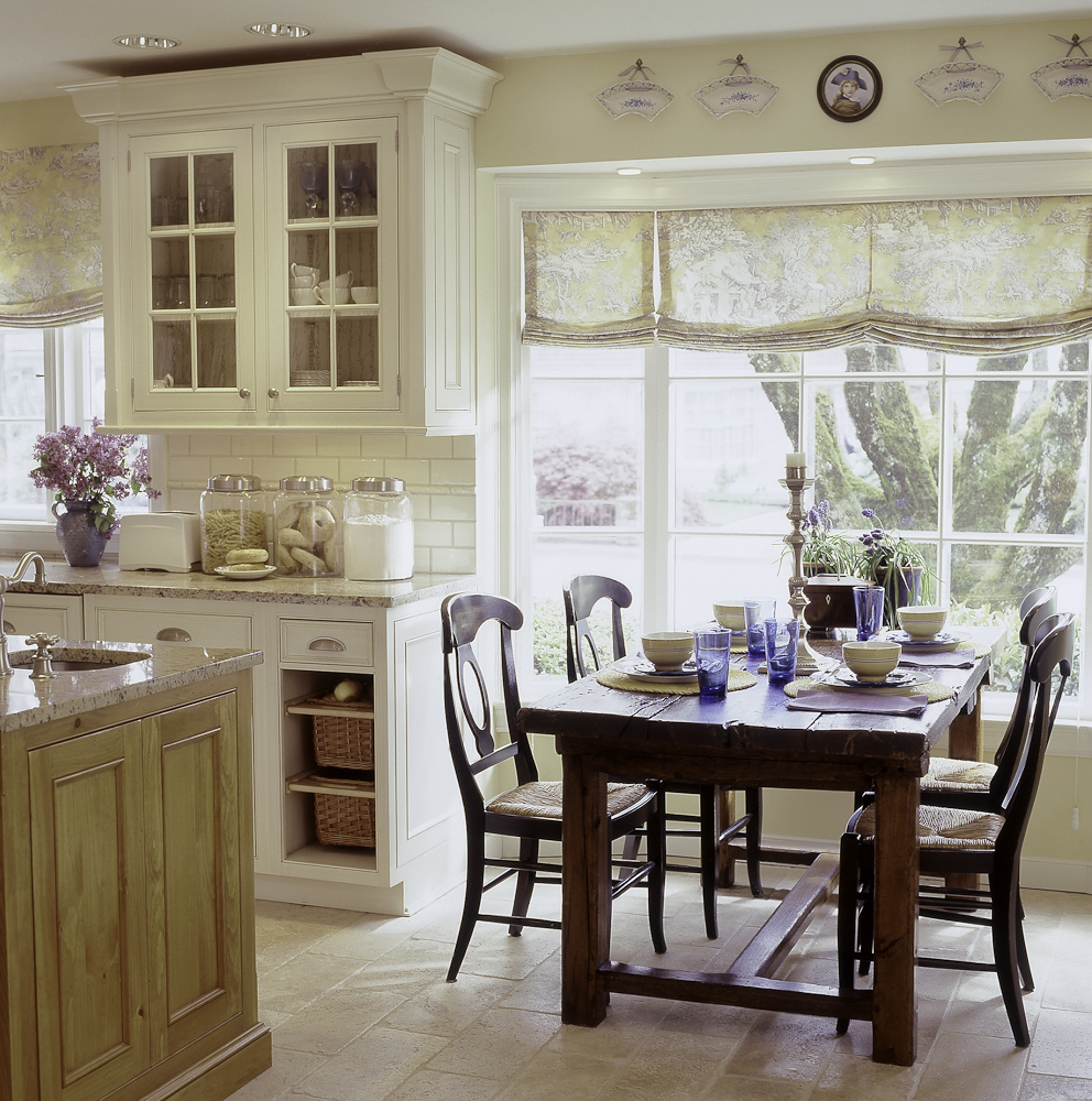 french country kitchen table photo - 4