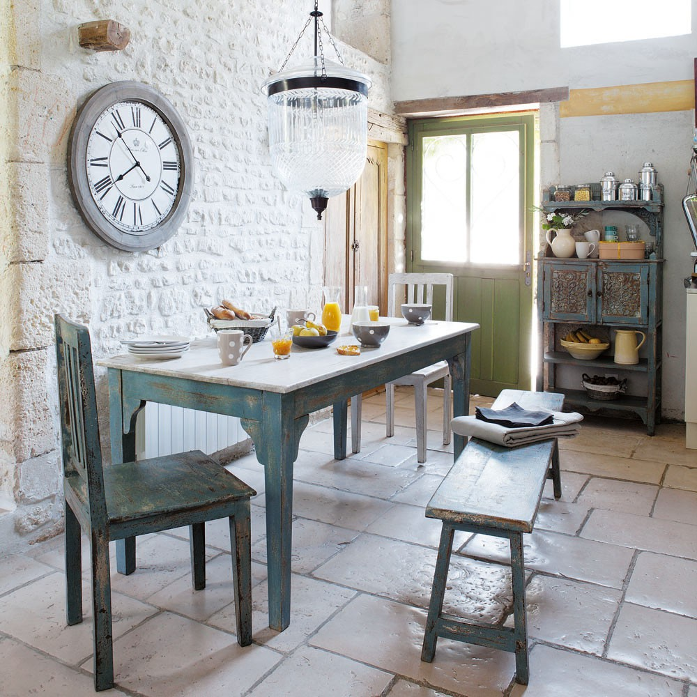 french country kitchen table photo - 8