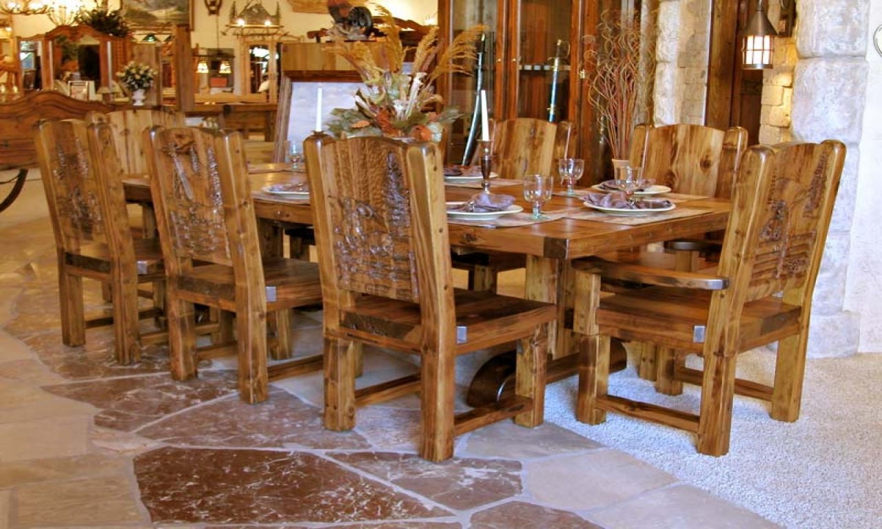 french country kitchen tables and chairs photo - 8