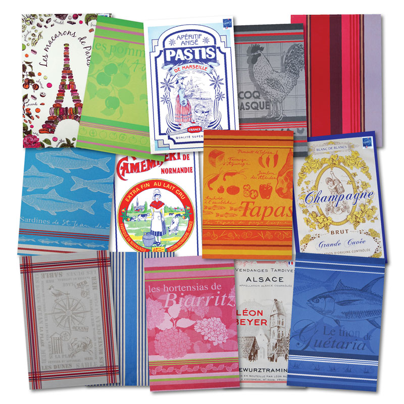 french country kitchen towels photo - 7