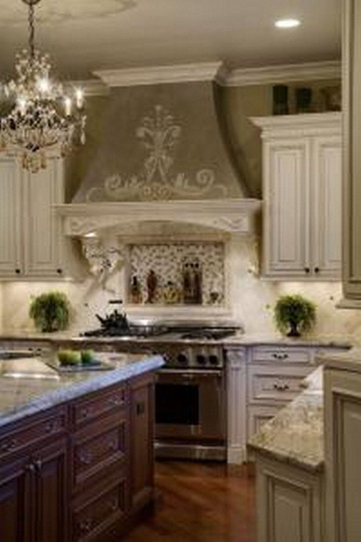 french country kitchen units photo - 1