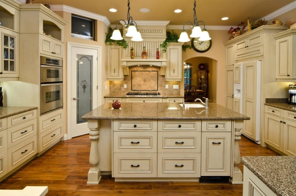 french country kitchen units photo - 8