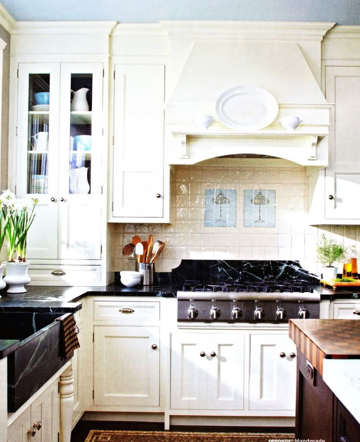 french country kitchen units photo - 9