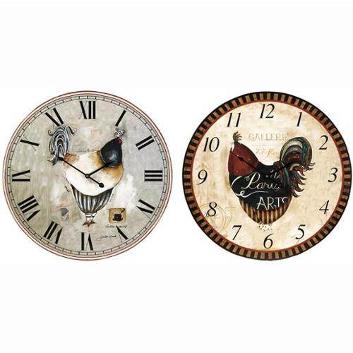 french country kitchen wall clocks photo - 1