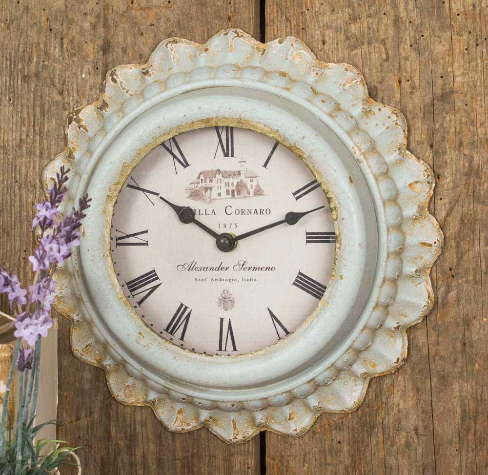 french country kitchen wall clocks photo - 10