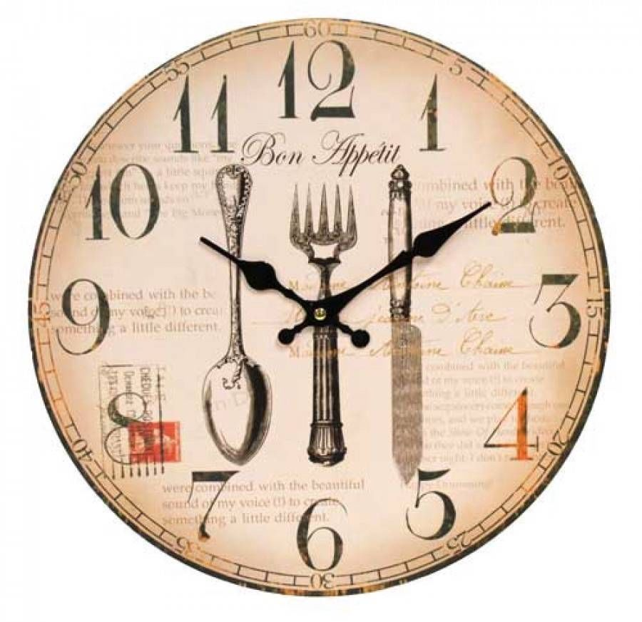 french country kitchen wall clocks photo - 4