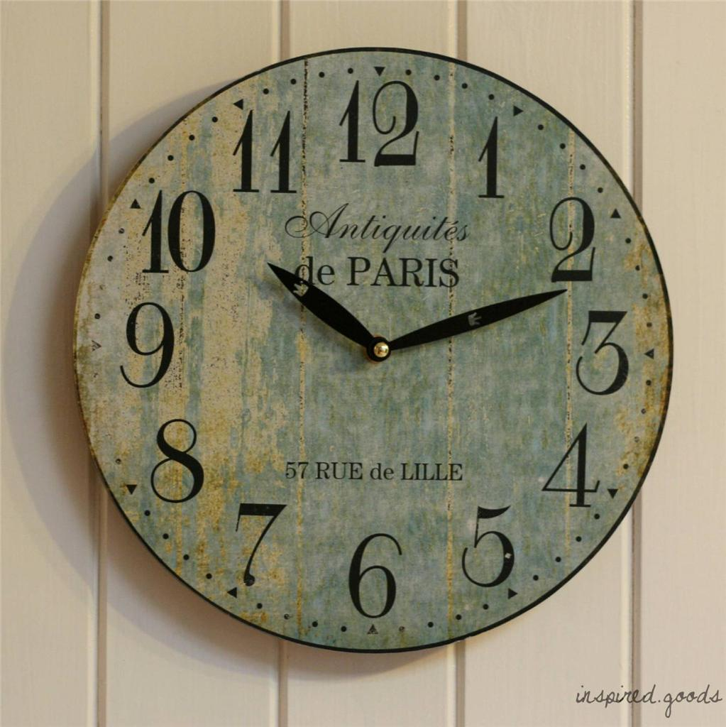 french country kitchen wall clocks photo - 5