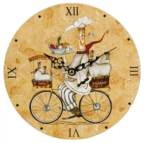 french country kitchen wall clocks photo - 8