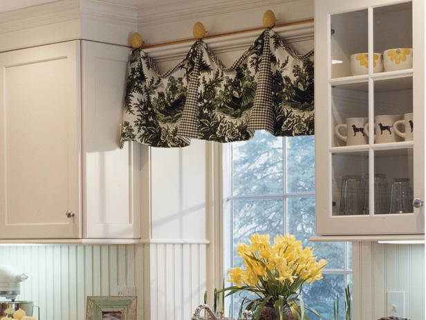 French Country Kitchen Window Treatments Photo 4